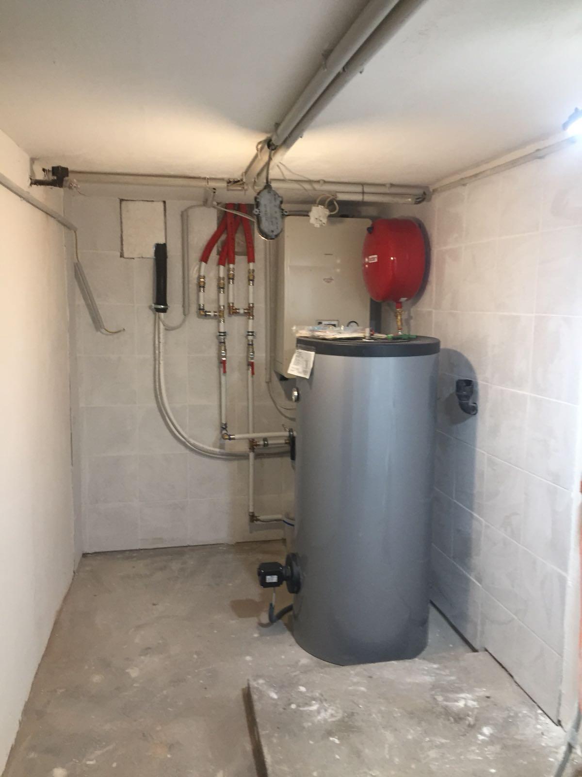 Wärmepumpen Technikraum - Sanierung